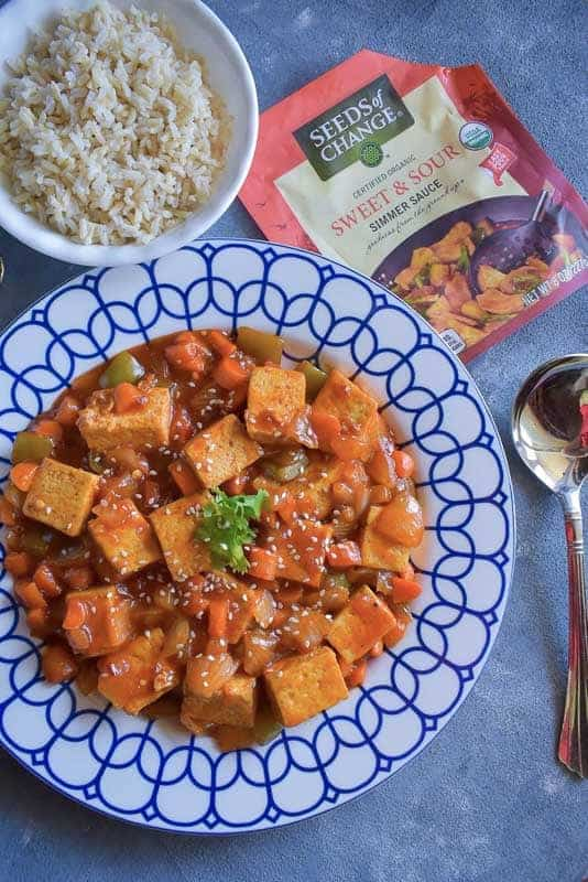 Sweet and Sour Tofu Recipe