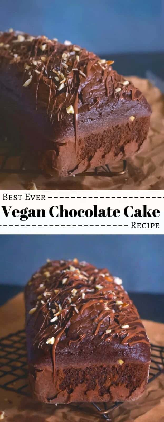 Best Ever Vegan Chocolate Cake Recipe: #vegan #chocolate #cake #yogurt