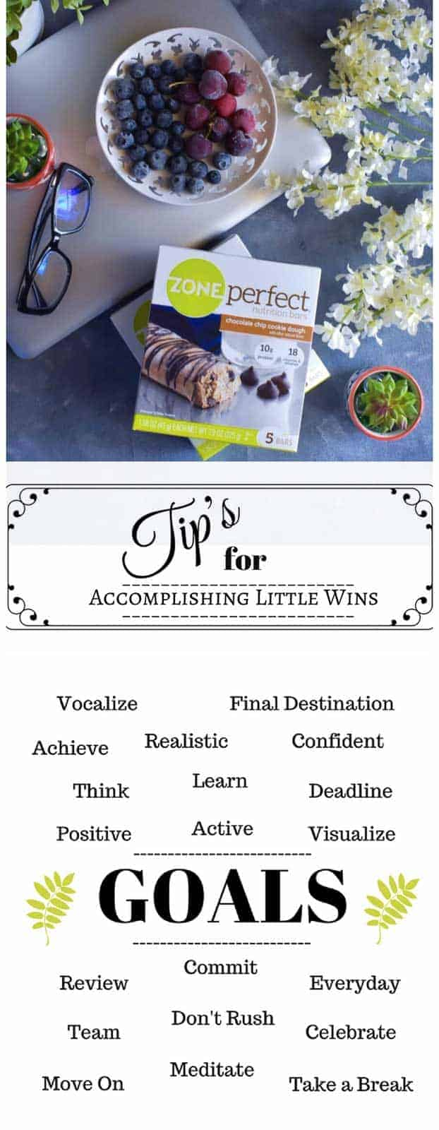 Tips for achieving little goals: #goals #stressfree #MyLittleWins #CollectiveBias #ad