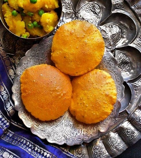 Masala Kaddu Kachori (Indian Pumpkin Flatbread)