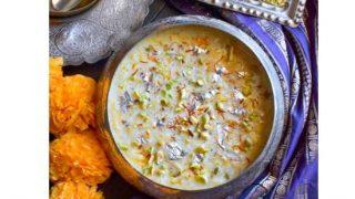 Shahi Saffron Pistachio Seviyan (Easy Diwali Dessert)