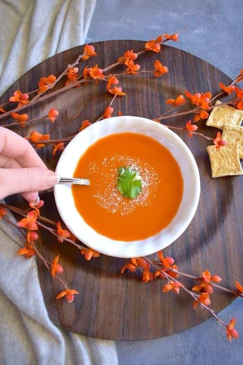 tomato-carrot-soup
