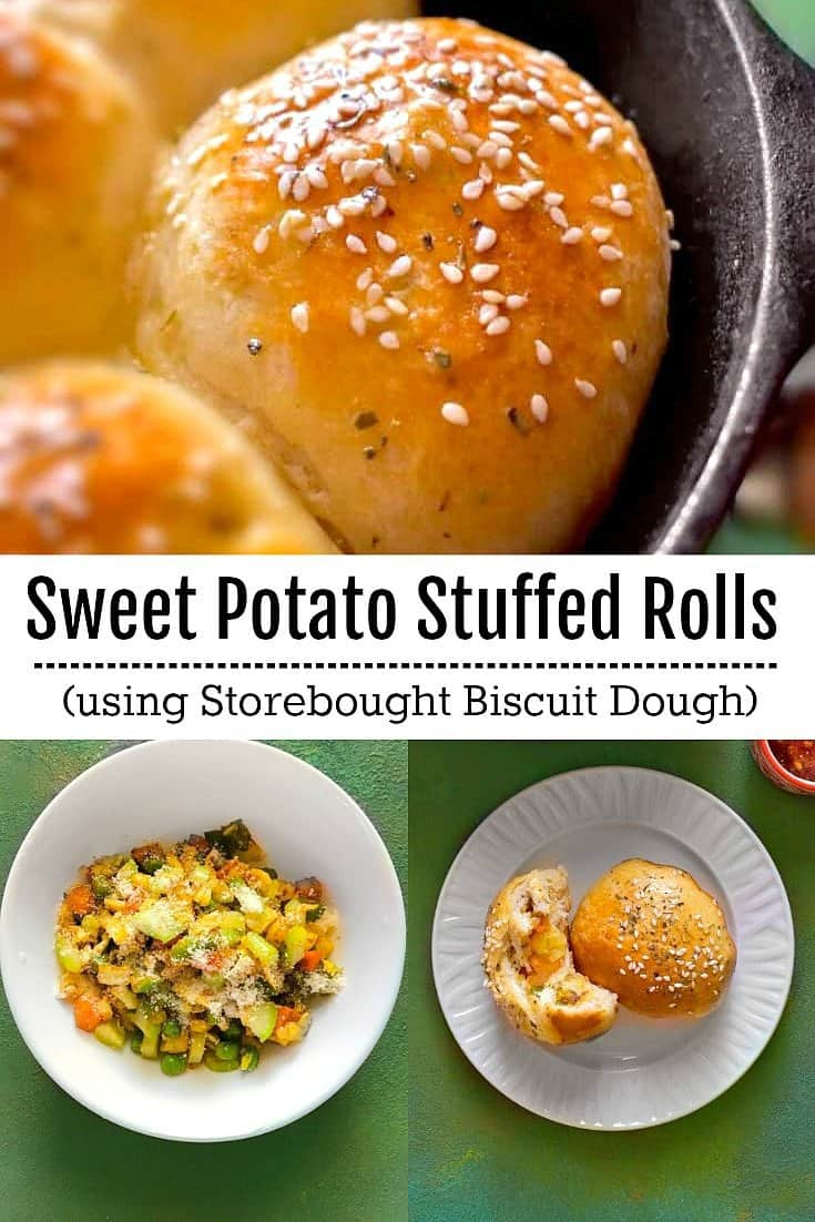 Stuffed Sweet Potato Rolls