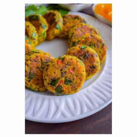 Curried Tuna Quinoa Patties
