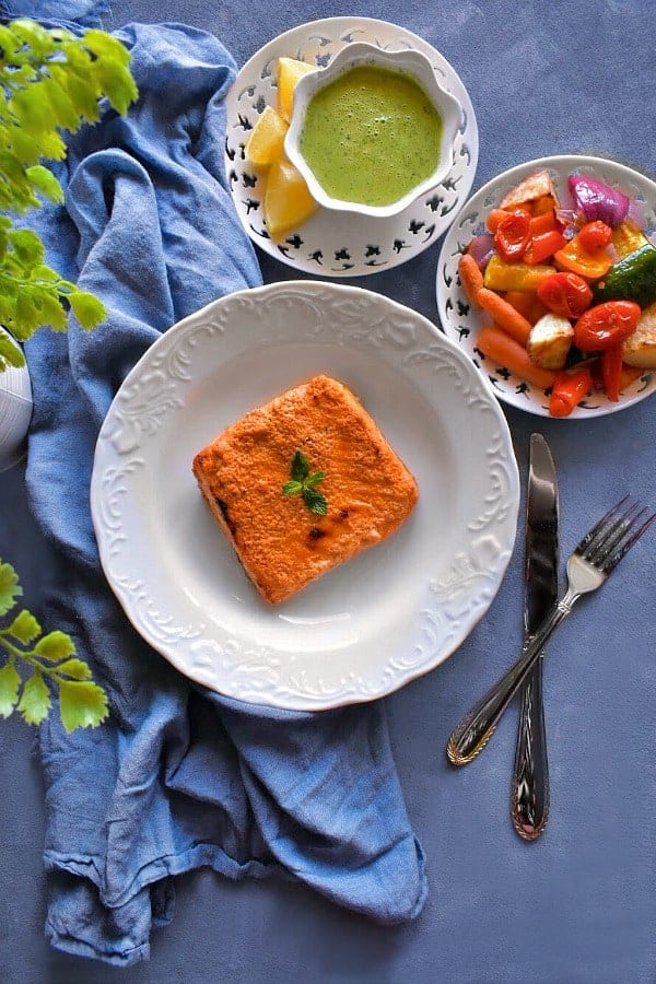 quick tandoori salmon recipe