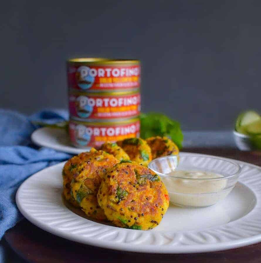 Indian tuna patties without bread