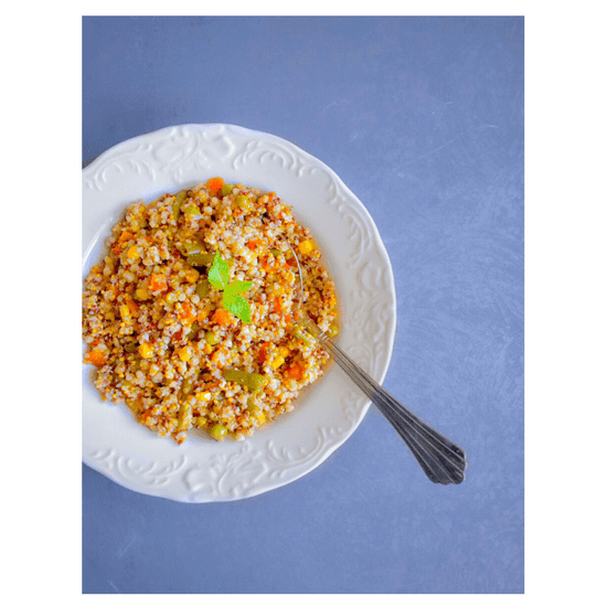 Quick Vegetable Quinoa Pilaf Pulao