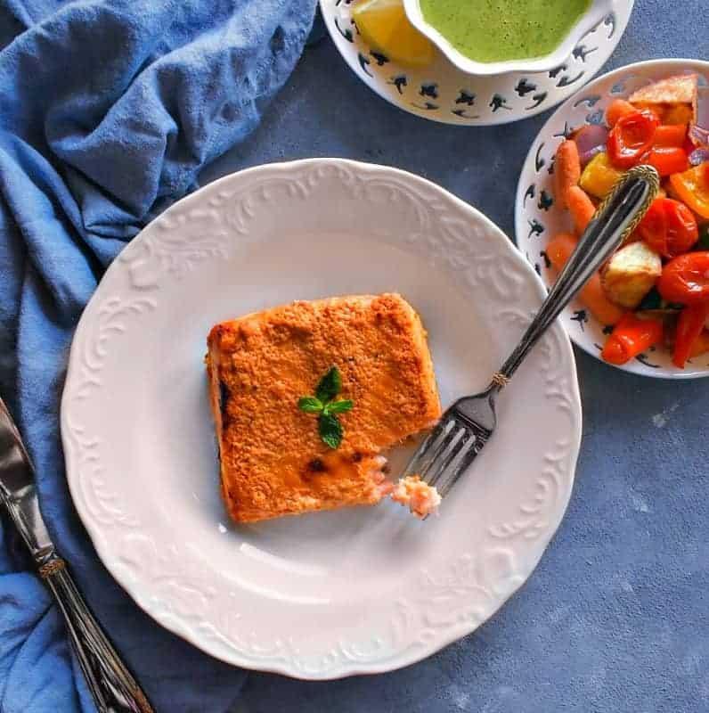 Oven Baked Tandoori Salmon Recipe