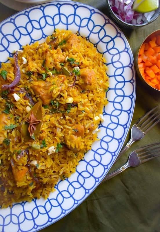 light-indian-chicken-biryani