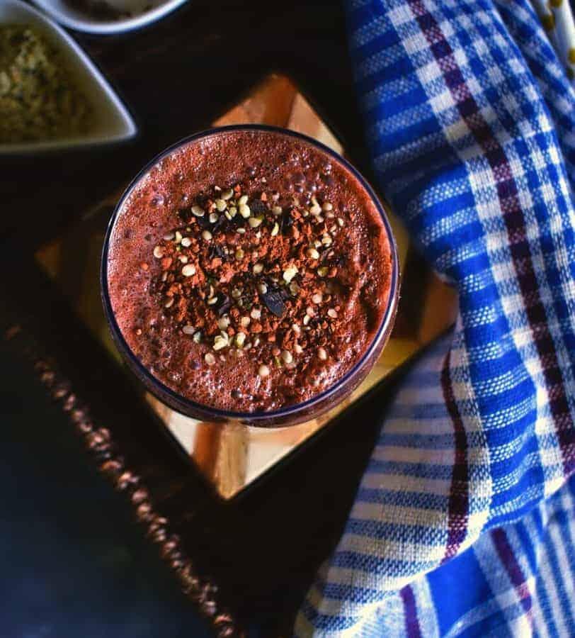 quick-chocolate-protein-smoothie