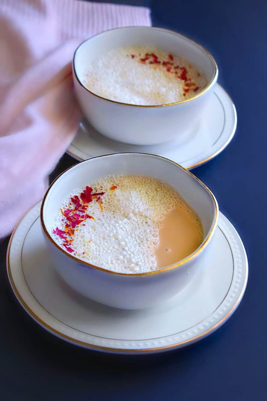 Saffron - Rose Chai Tea Recipe