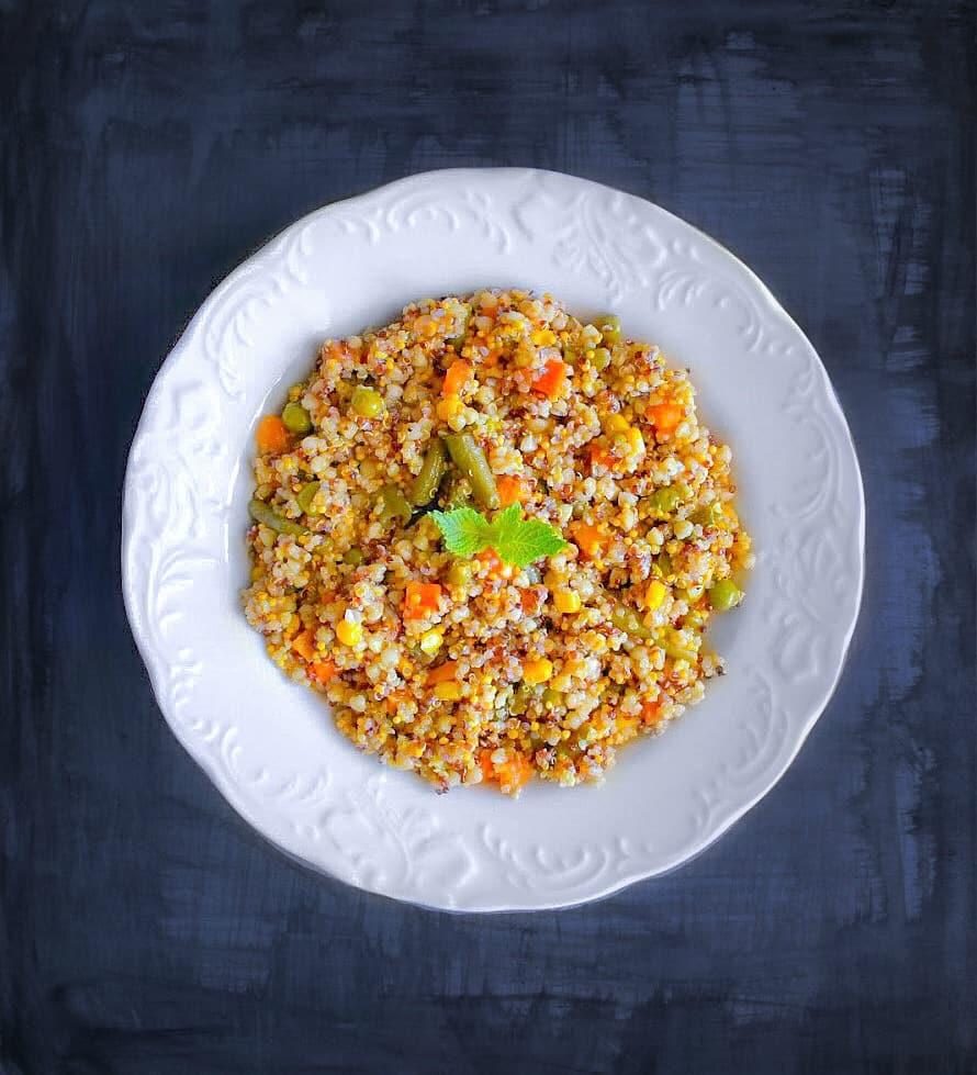 Vegetable Quinoa Pulao Recipe