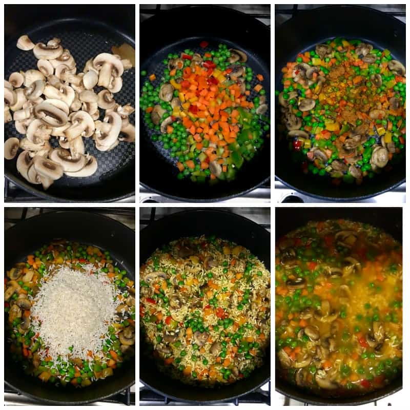 how-to-make-mushroom-pilaf