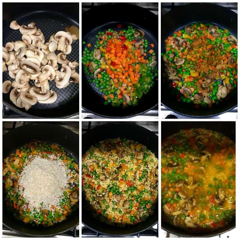 how-to-make-mushroom-pilaf