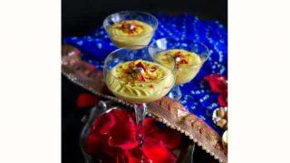 Instant Thandai Mousse (Indian Yogurt Mousse) #shrikhand