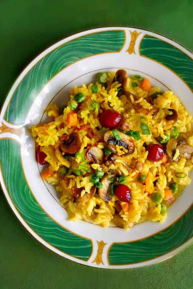 mushroom-pulao-recipe