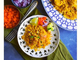 lighter chicken biryani