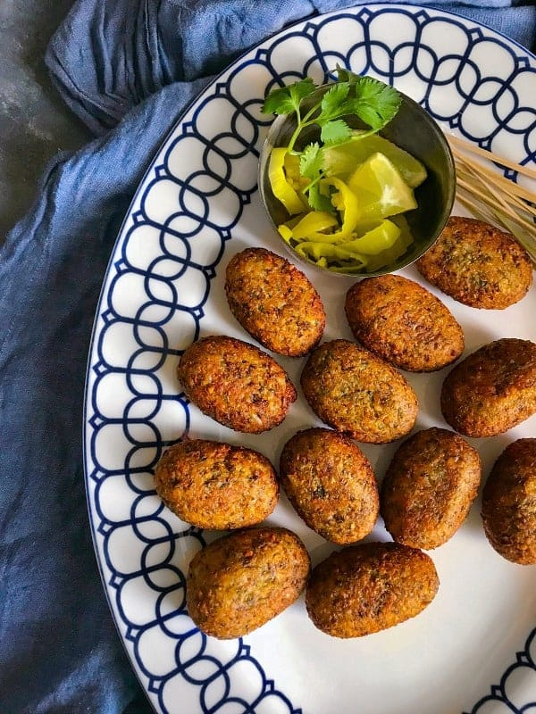 vegetable kabab recipe using lentils