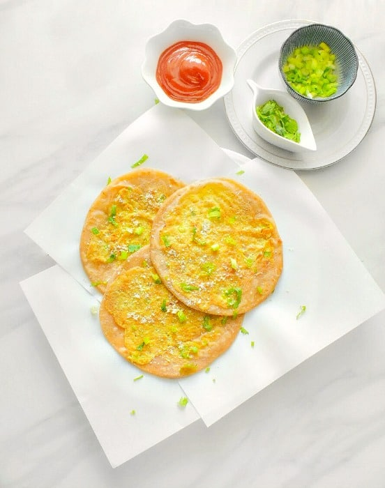 Anda Paratha - Egg Paratha