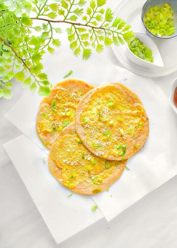 Anda Paratha Recipe