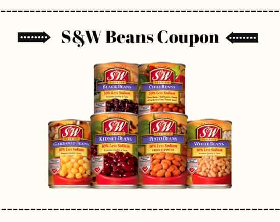 S&W Beans Coupon