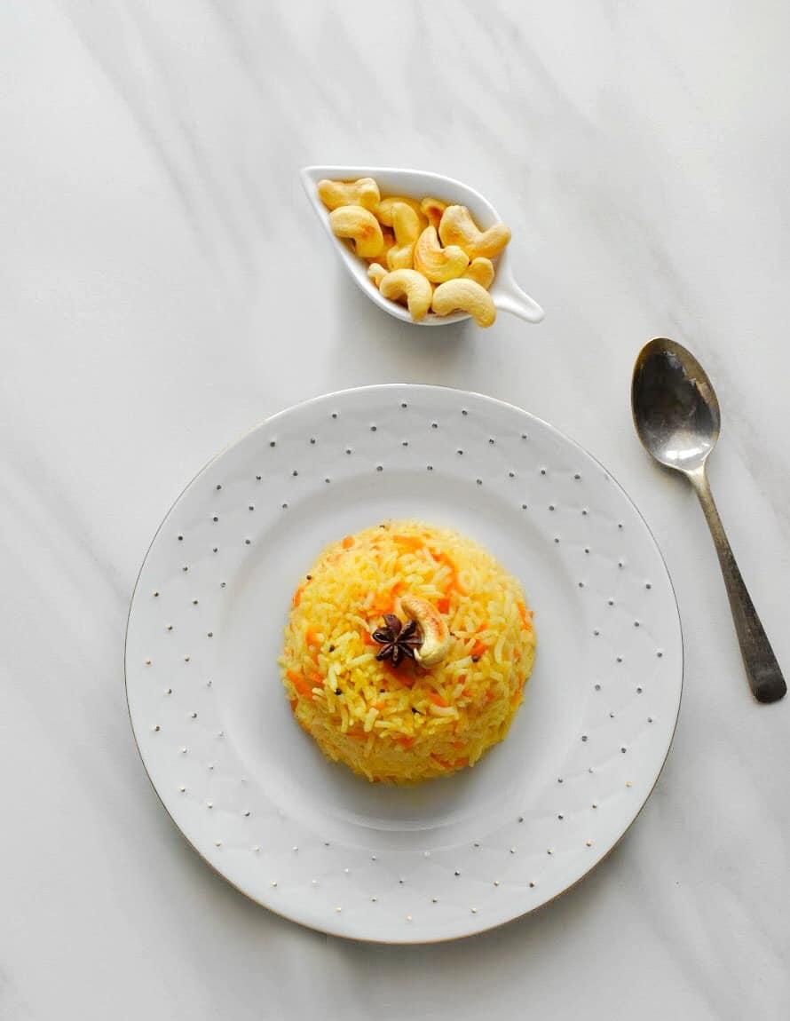 instant-pot-carrot-pilaf
