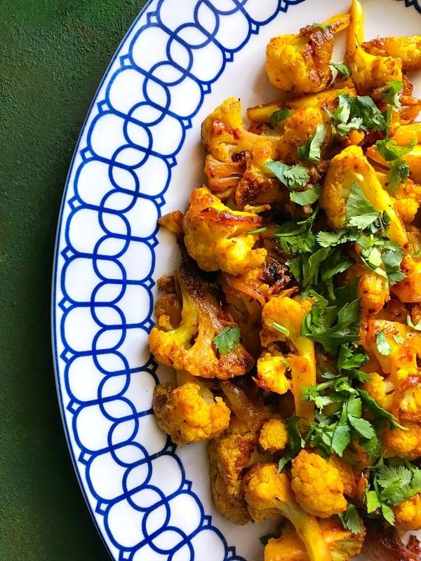 Instant pot gobi masala cauliflower in indian spices vgf this instant pot gobi masala is vegan glutenfree forumfinder Gallery