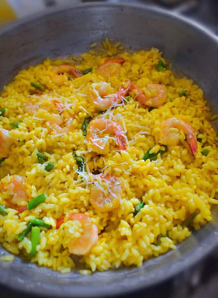 easy-shrimp-risotto