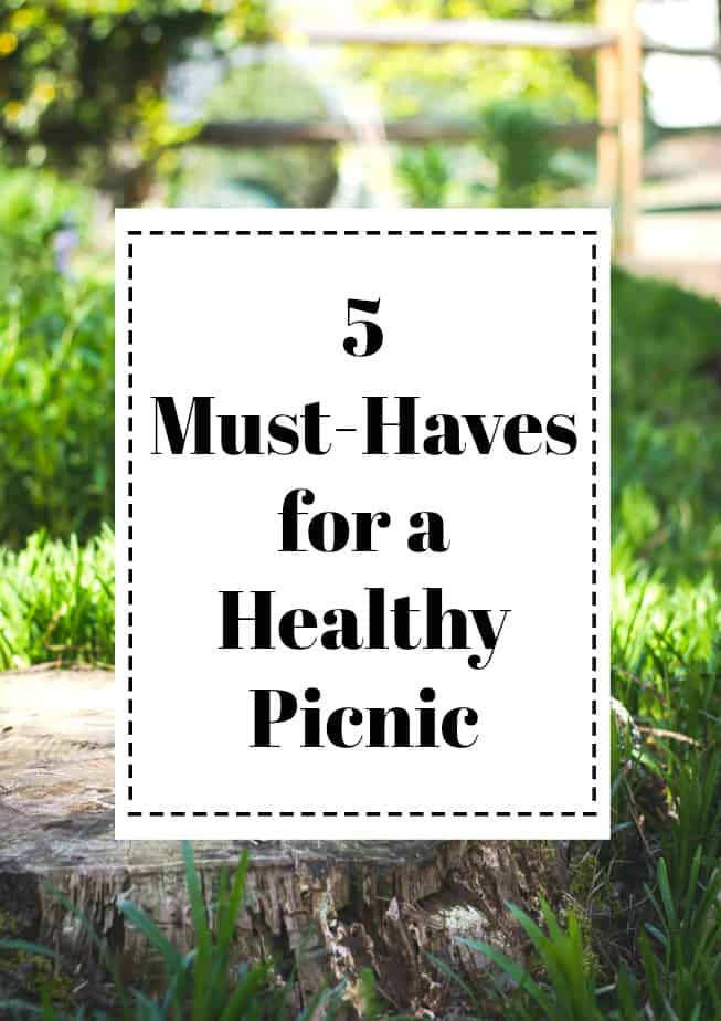 5 Must-Haves for a Healthy Picnic : #picnic #food #beer #healthy