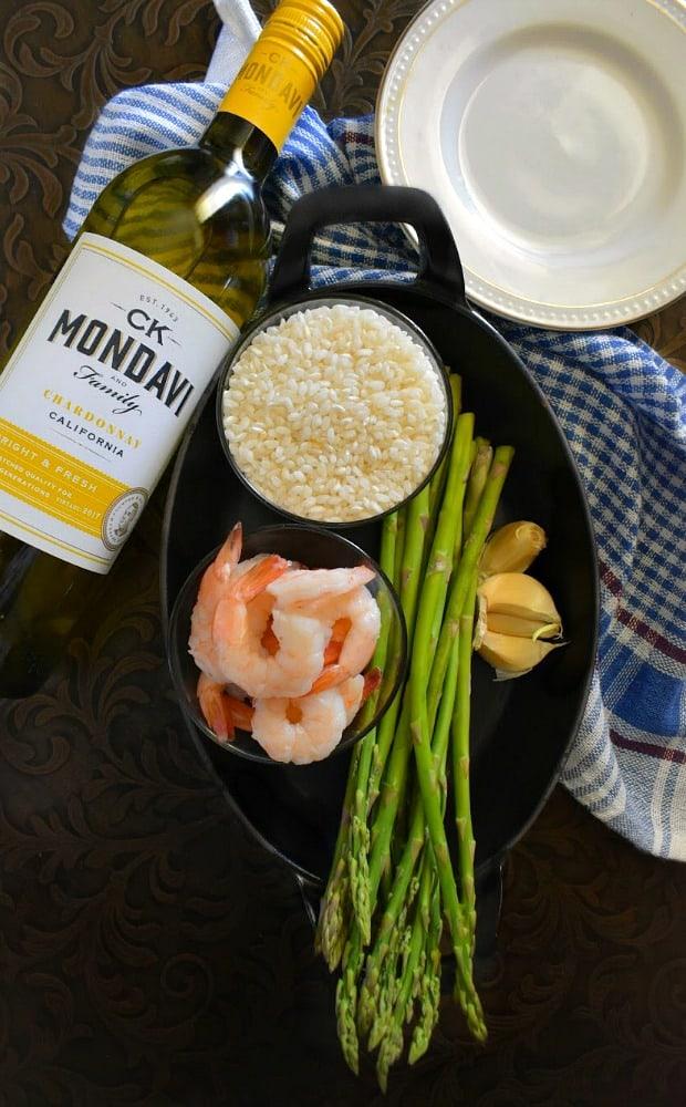 shrimp-risotto-ingredients