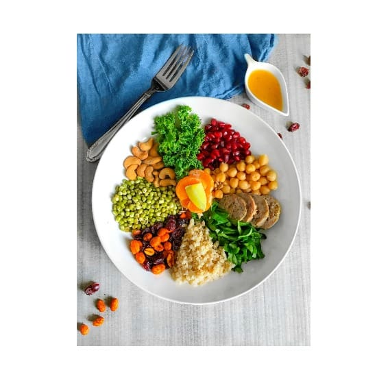 5 Minutes Protein Packed Summer Salad