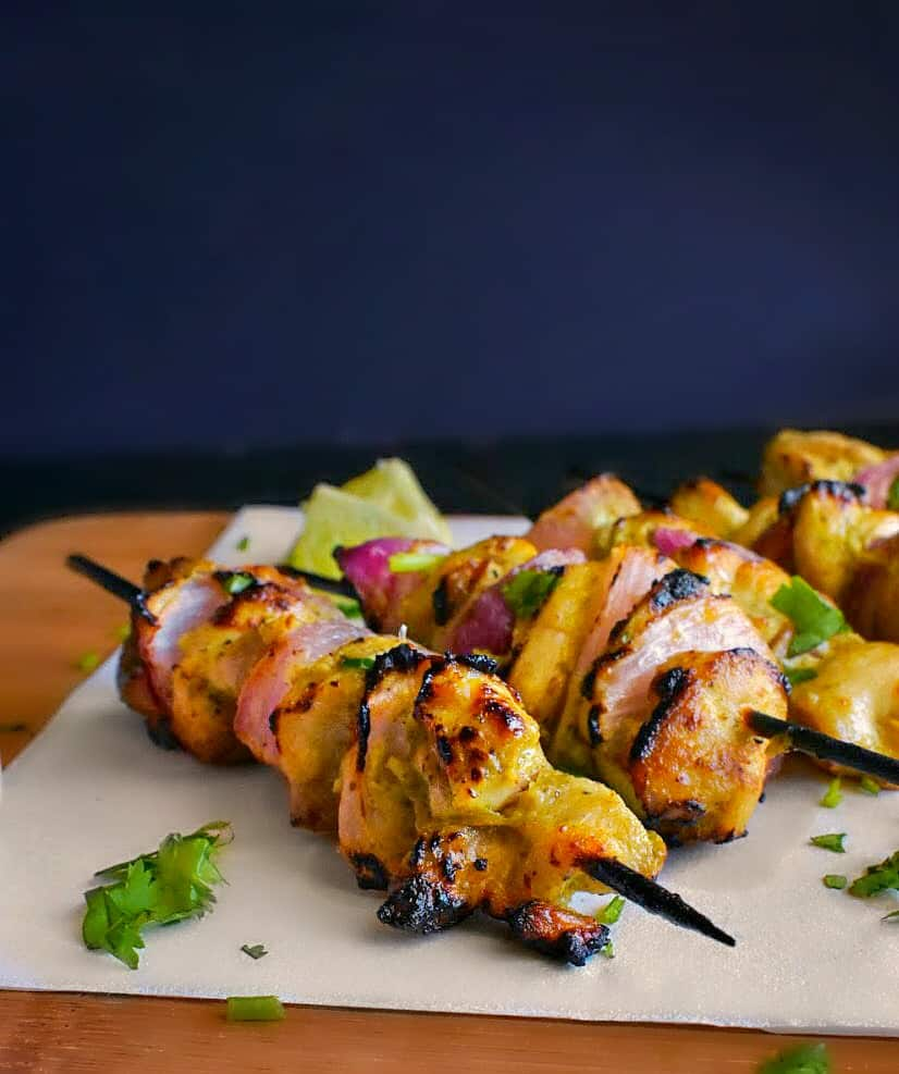 Indian-yogurt-mint-chicken-kebabs