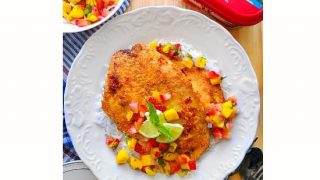 Pan Seared Fish with Fruit Salsa