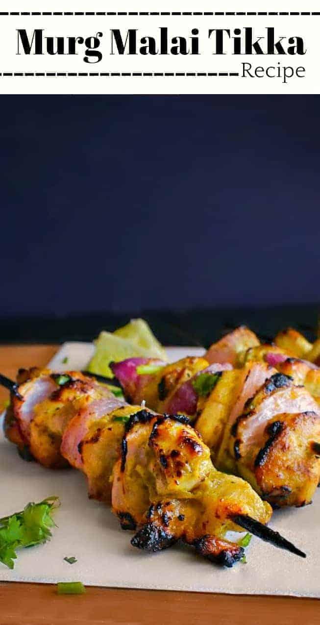 Murg Malai Tikka Recipe: #murg #malai #tikka #chicken #indianfood