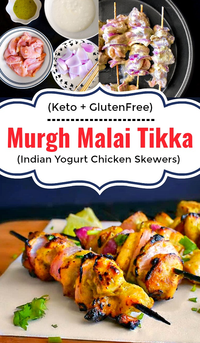 Murgh Malai Tikka - Murg Malai