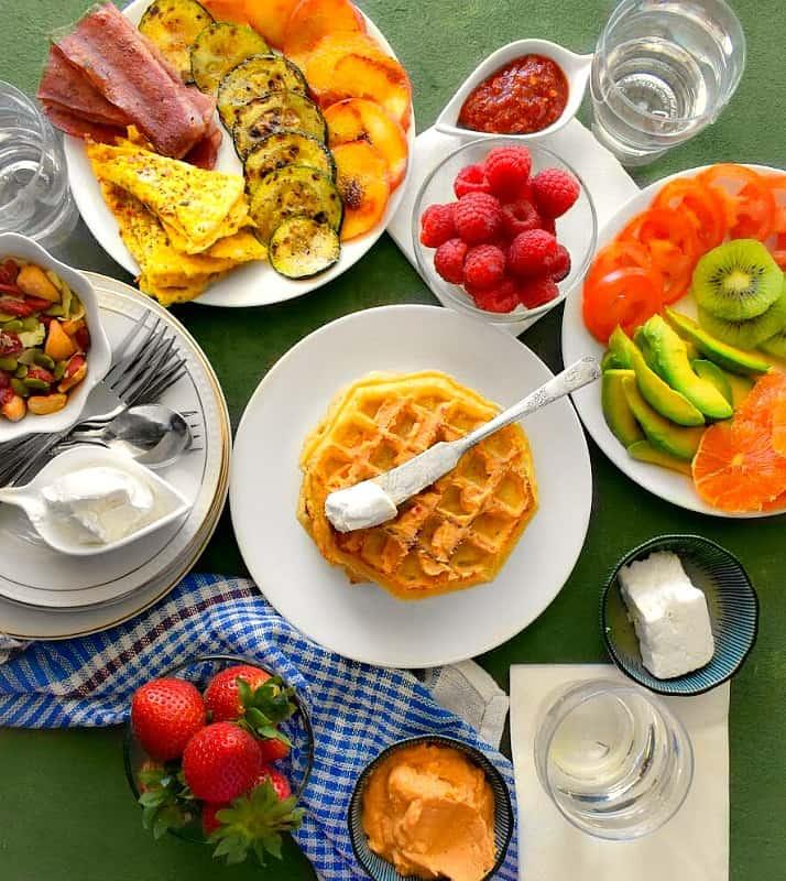 #LoveMyEggo Ultimate-Summer-Waffle-Breakfast