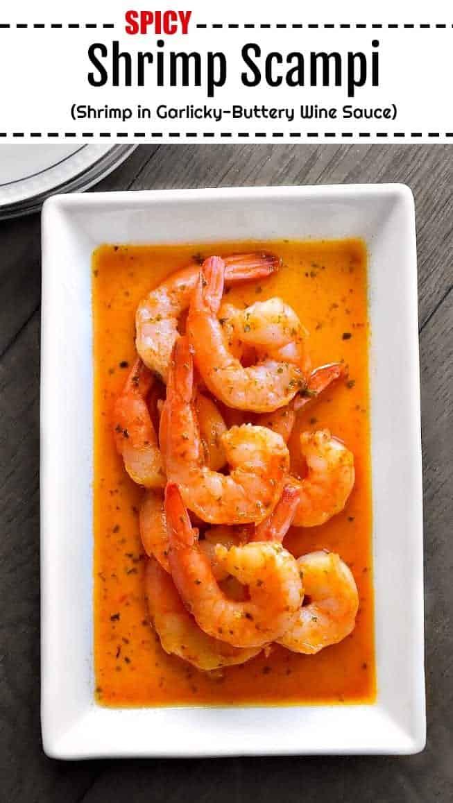 Spicy Shrimp Scampi: #shrimp #scampi #spicy #weeknight