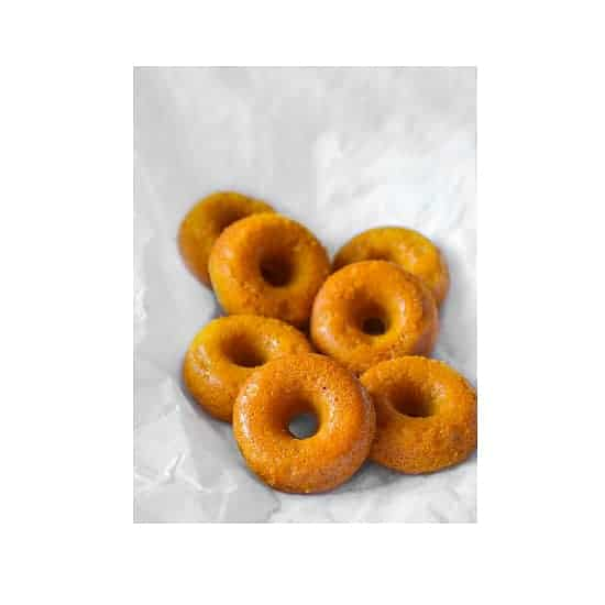 Baked Mango Cardamom Donut