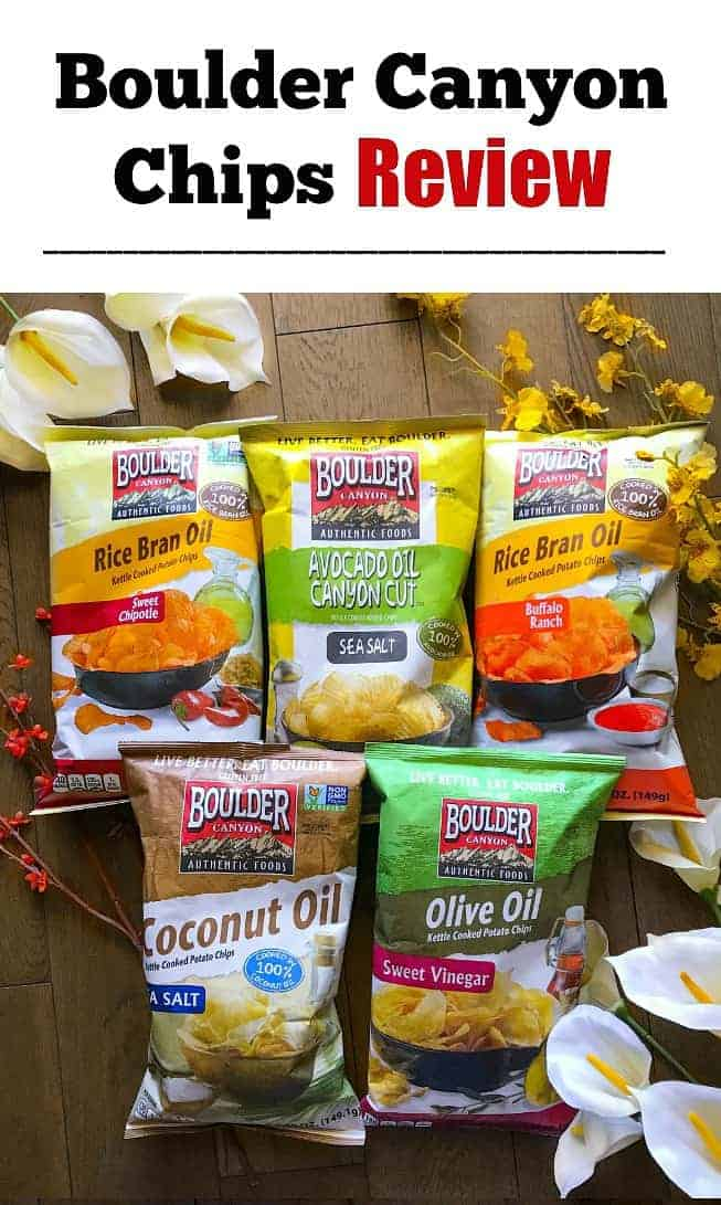 Boulder Canyon Potato Chips Review: #potato #chips #snackboulder #ad