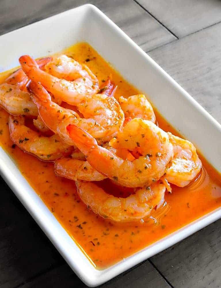 buttery garlic shrimp scampi recipe
