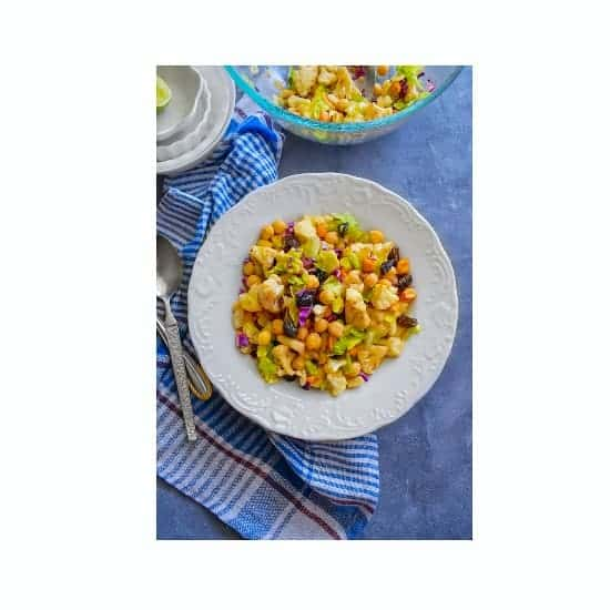 cauliflower chickpea salad recipe