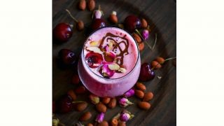 Cherry Rose Smoothie