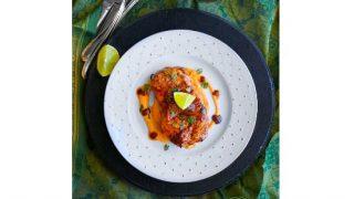 Peach Ginger Glazed Pork Chops