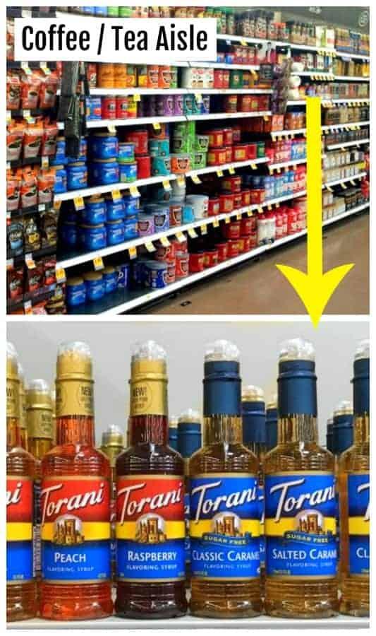 kroger-torani-syrup-coffee-aisle