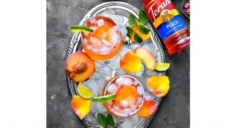 Peach Rose Margarita - Enjoy All Year Around #ToraniEndlessSummer