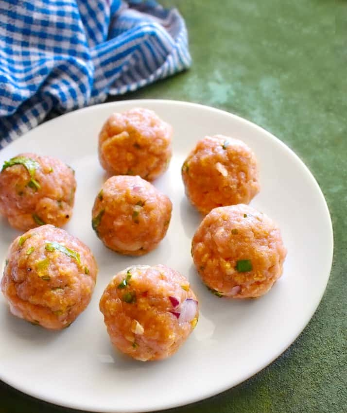 how to make mango habanero meatballs