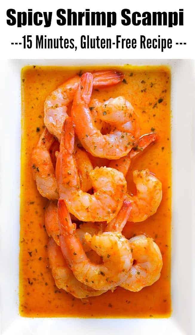 Spicy Shrimp Scampi Recipe