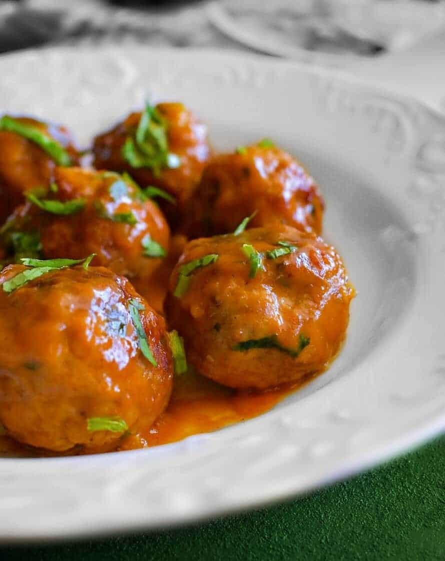 sweet-spicy-pork-meatballs