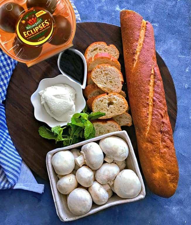 tomato-mushroom-crostini-ingredients