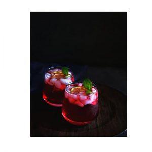 hibiscus gin fizz recipe using sweetener